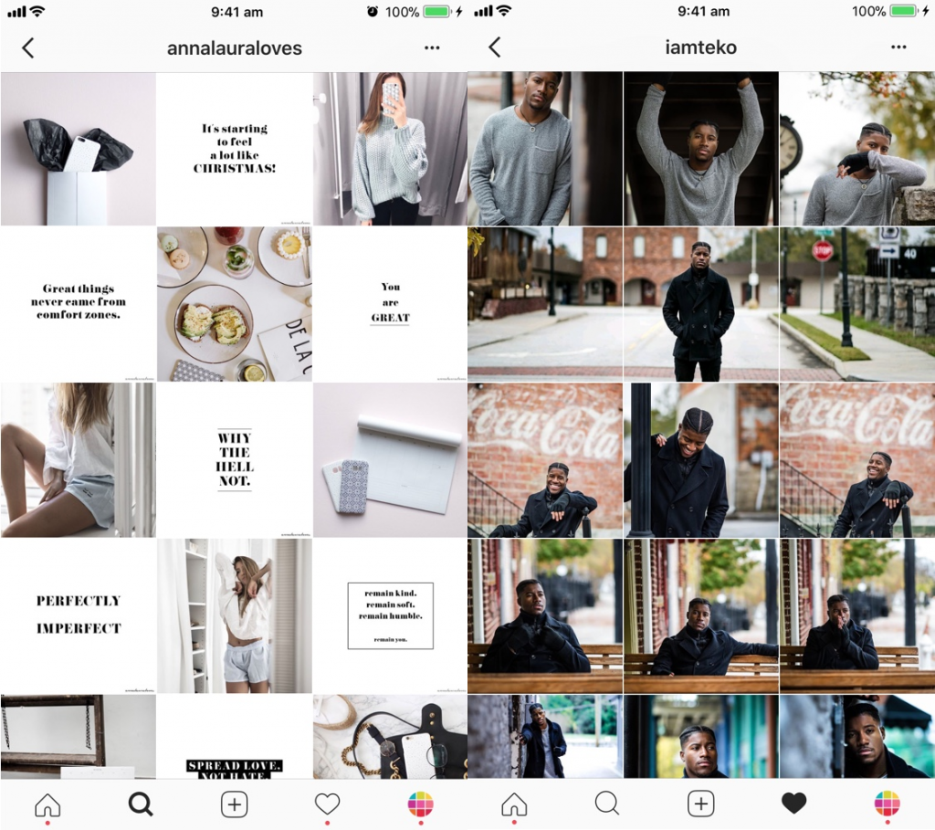 Gallery and Grid Layout